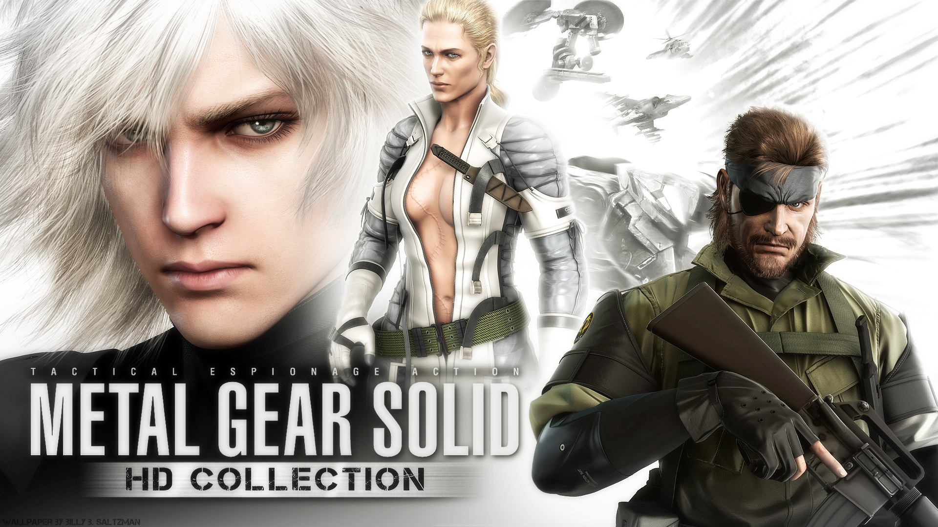 Metal Gear Solid Hd Wallpaper By Billysan291 On Deviantart