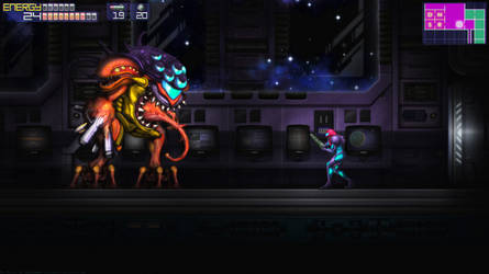 Metroid Fusion SA-X Boss - Alternate Version