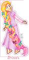 Dawn as Rapunzel by Silver-Mary