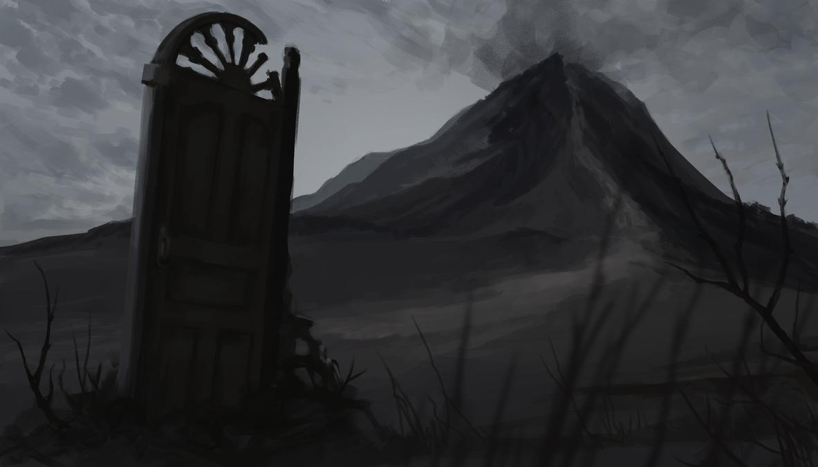 The Door by Nergal8