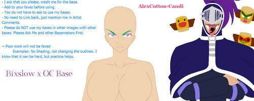 Bixslow x OC Base by AlexCotton-Candi