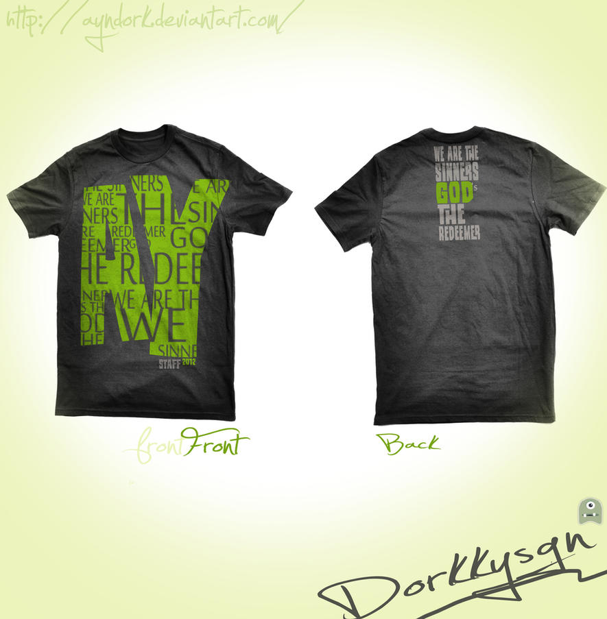 T shirt design youth -  Youth Staff Unklab T Shirt Design By Ayndork