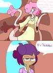 Flutters Trying To Get On Twi's Good Side