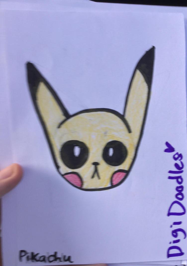 Demon pikachu by DigiDoodles