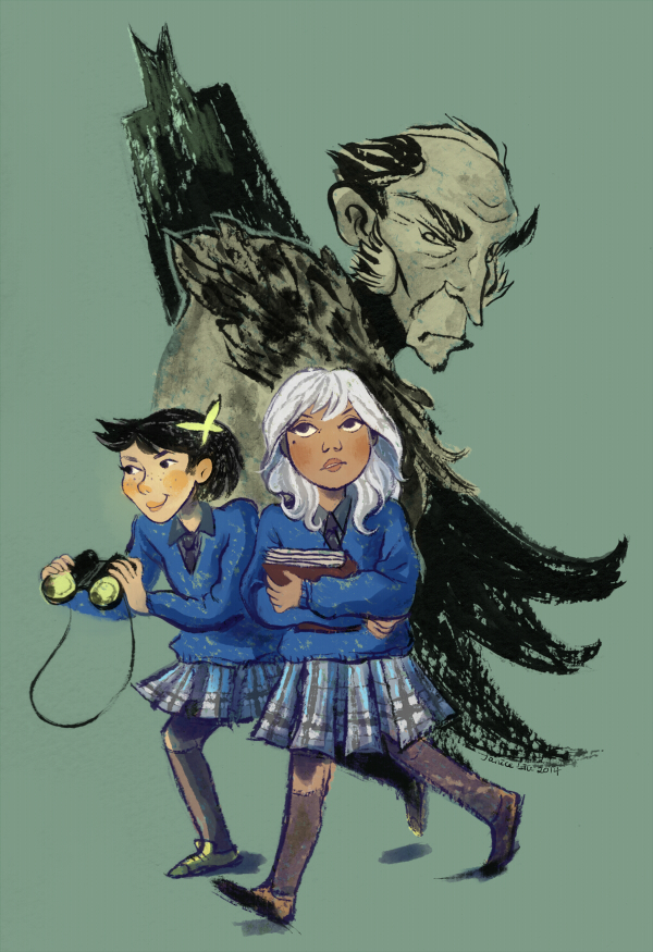 Gotham Academy by flutterdoodle