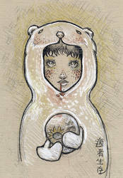Childhood II ::Drawing:: by lavonia