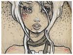 Unravel Closeup ::Painting::