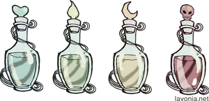 Magical Potions by lavonia