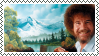 Bob Ross Stamp by lavonia