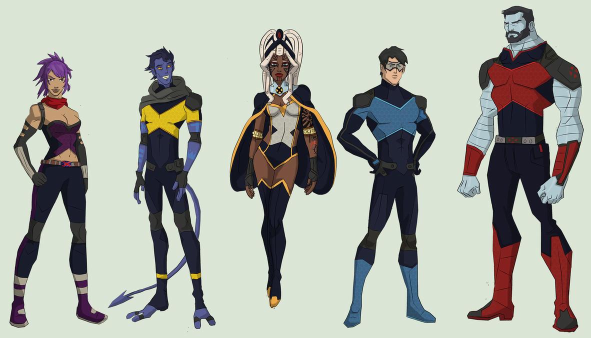 X-Men International by cspencey