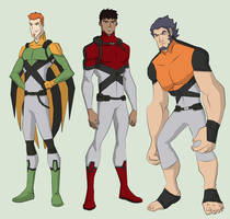 Young X-men by cspencey