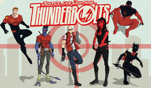 Thunderbolts by cspencey