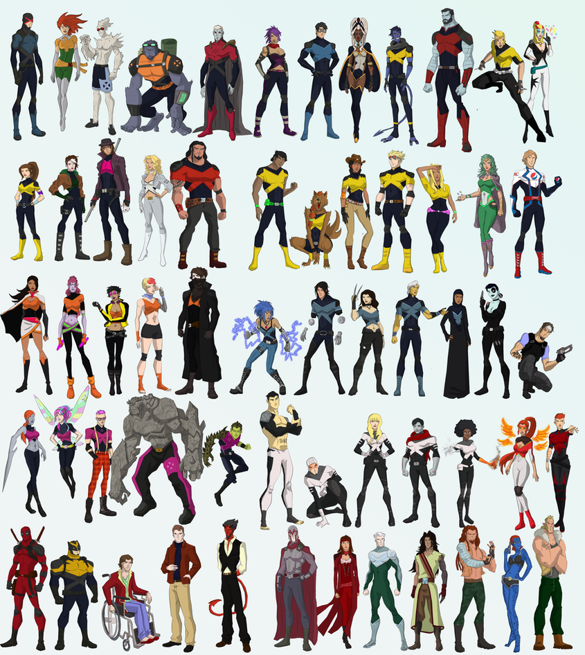 X-men by cspencey