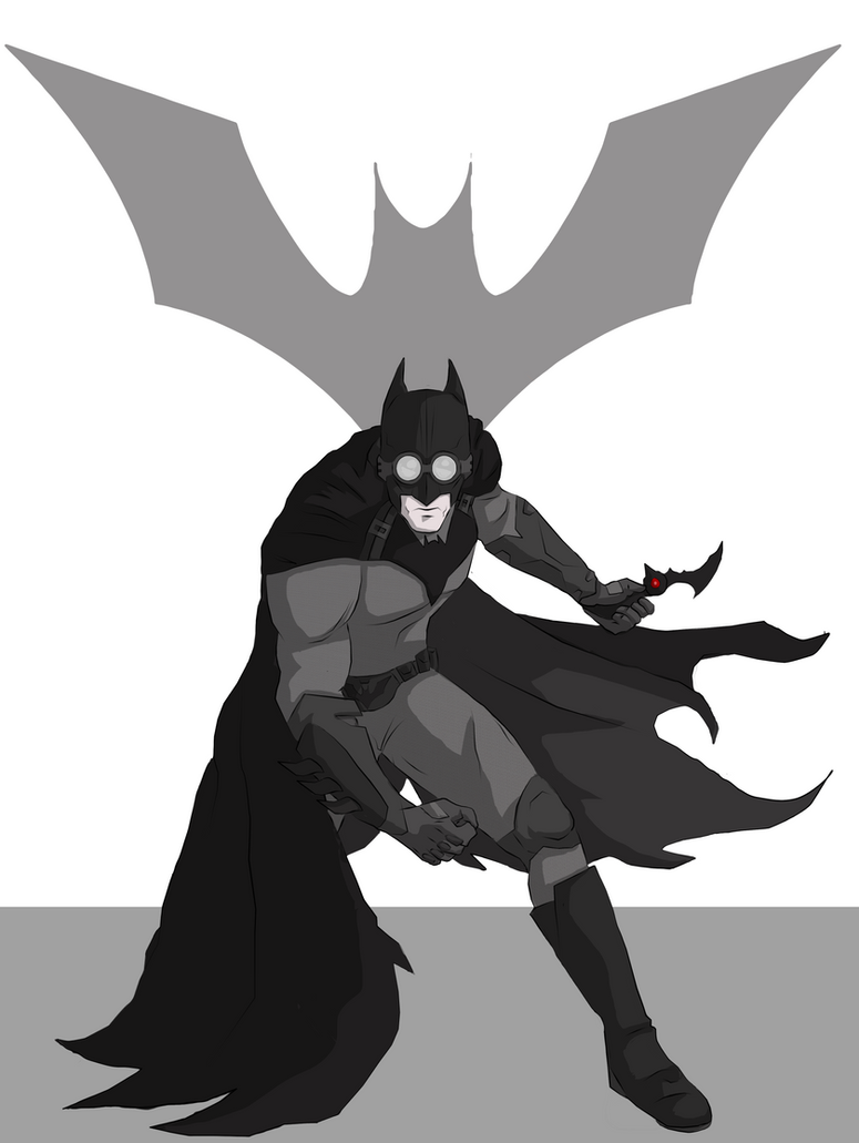 Batman by cspencey