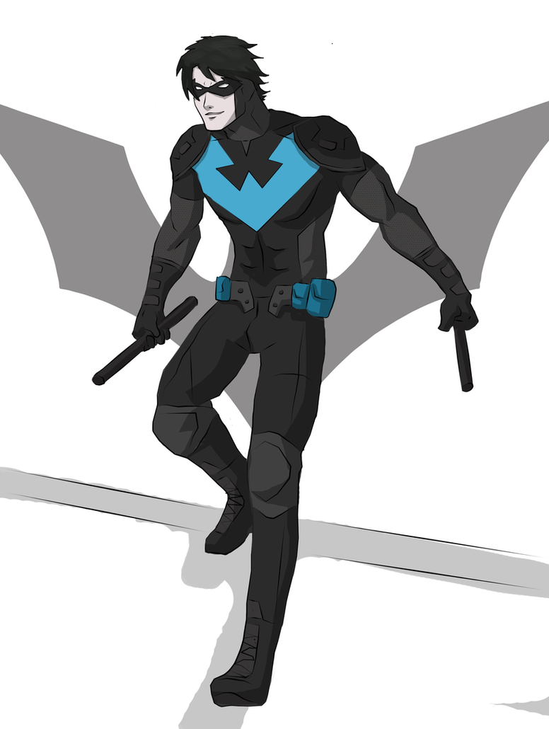 Nightwing by cspencey