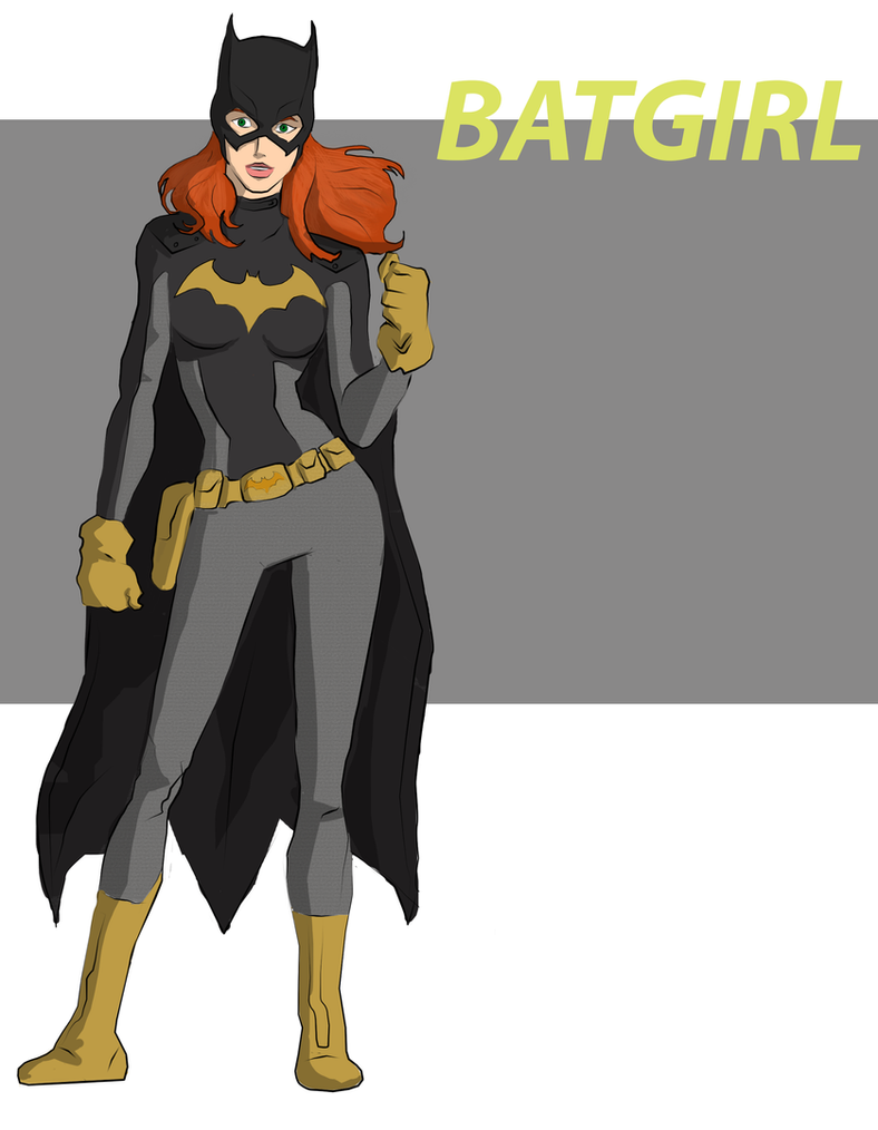 Batgirl by cspencey