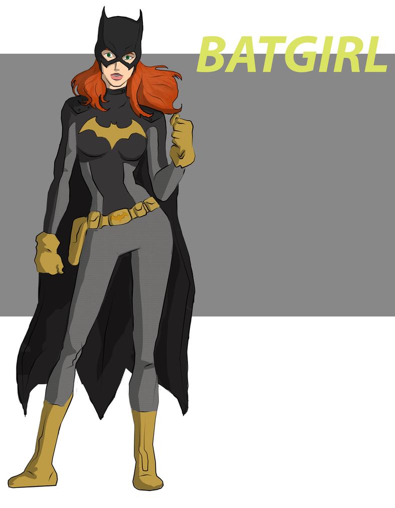 Batgirl by cspencey