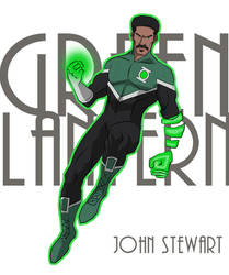 Green Lantern by cspencey