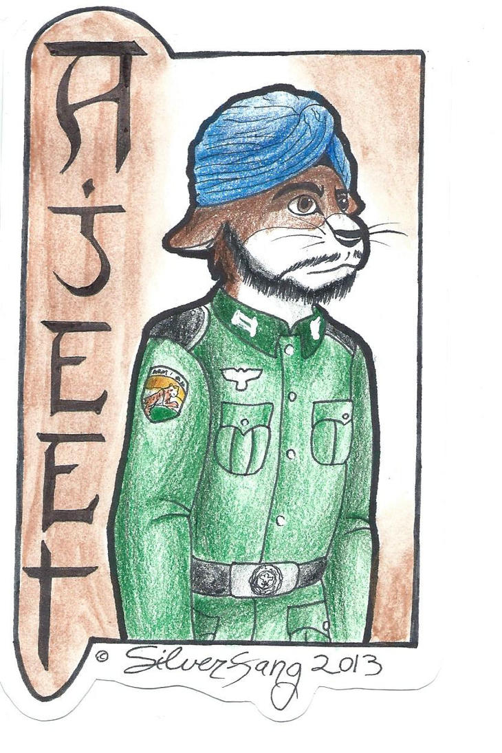 Ajeet Badge Trade by Silverfang98