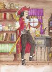 Commission: Captain Hook