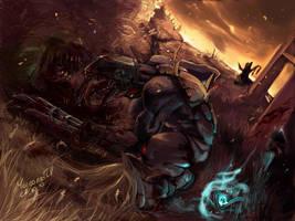 Neer Ghoul Berserker by MaroonedIv