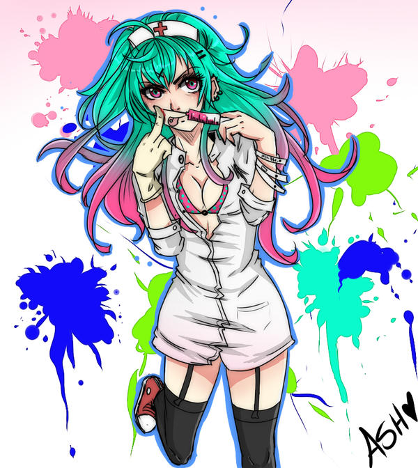 Enfermera by tsukiyagami
