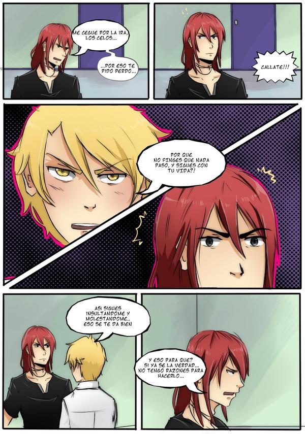 fan-comic Castiel x Nathaniel -pag. 13 by tsukiyagami
