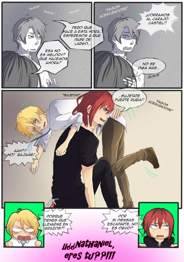 fan-comic Castiel x Nathaniel -pag. 31 by tsukiyagami
