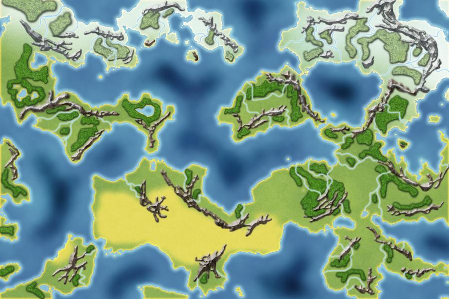 Random Fantasy Map by yoski