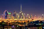 Dubai Skyline by Stefan-Becker