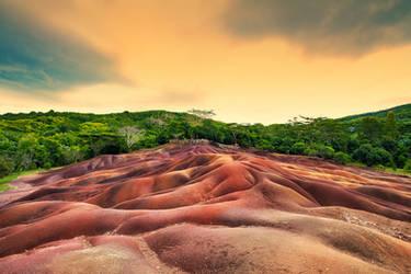 Seven Coloured Earths by Stefan-Becker