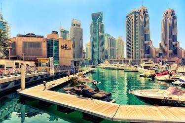 Dubai Marina by Stefan-Becker