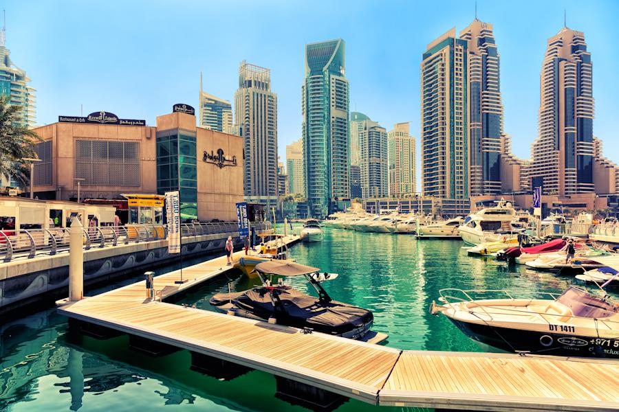 Dubai Marina by hessbeck-fotografix
