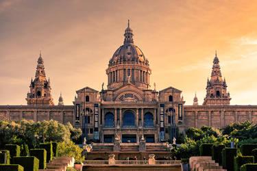 National Museum Barcelona by Stefan-Becker