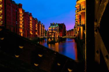 Hamburg Speicherstadt by Stefan-Becker