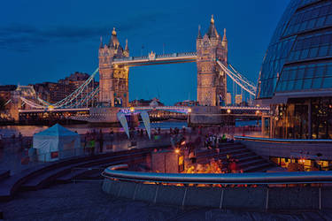 Tower Bridge London by Stefan-Becker