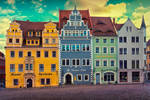 Historic center of Meissen, Germany