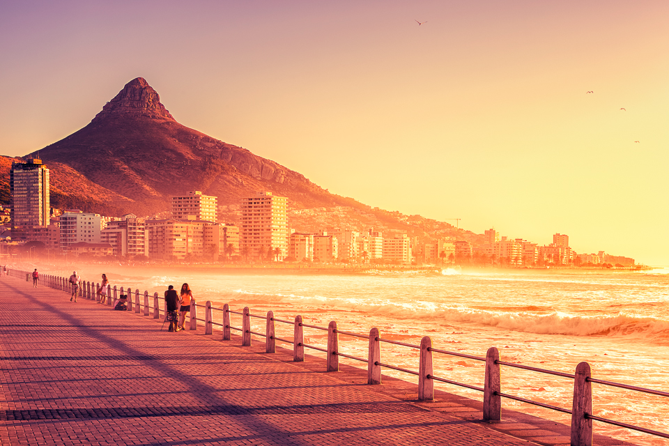 Sea Point, Cape Town - South Africa by hessbeck-fotografix