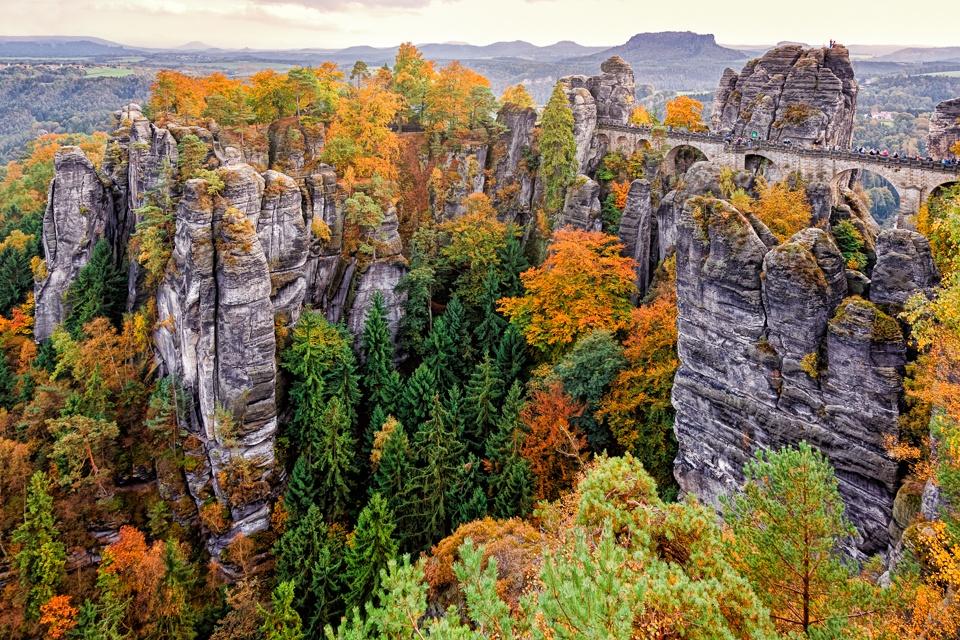Saxon Switzerland in Autumn by hessbeck-fotografix
