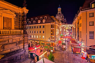 Christmas Time in Dresden by Stefan-Becker