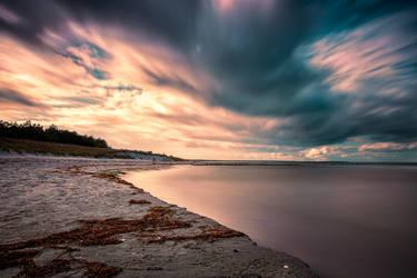 Baltic Sea, Prerow by Stefan-Becker