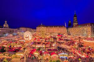 Christmas market in Dresden by Stefan-Becker