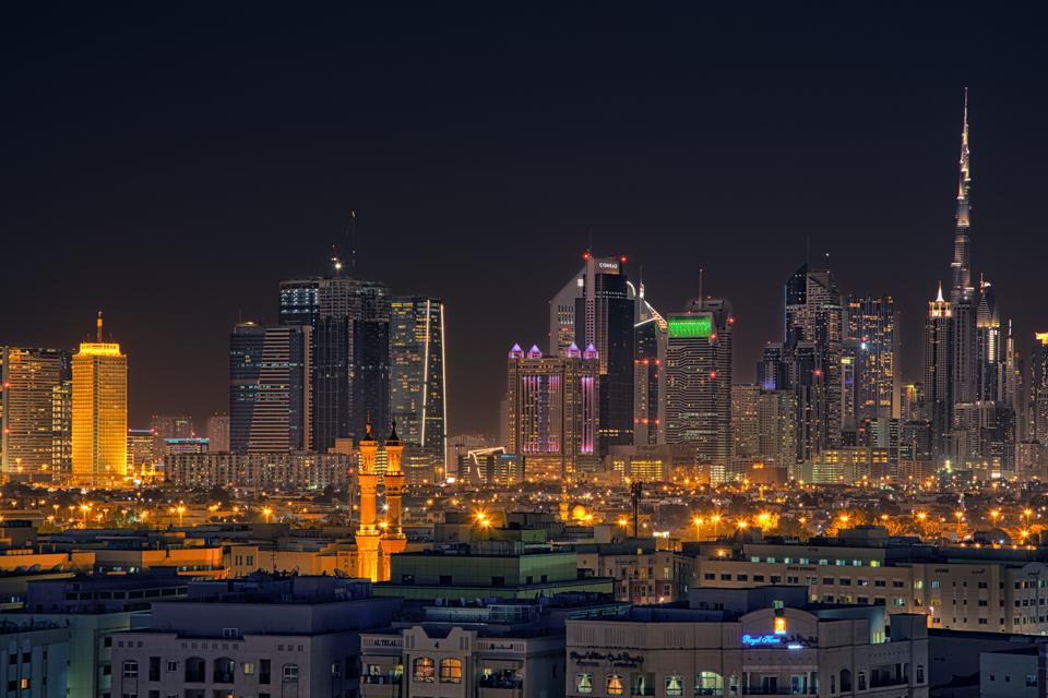 Dubai Skyline by hessbeck-fotografix