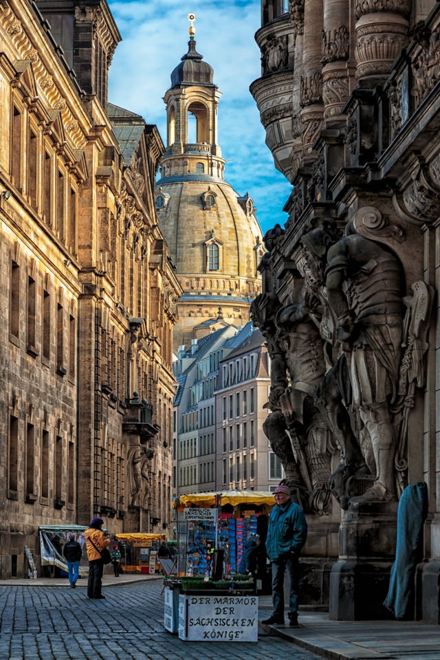 Old town of Dresden