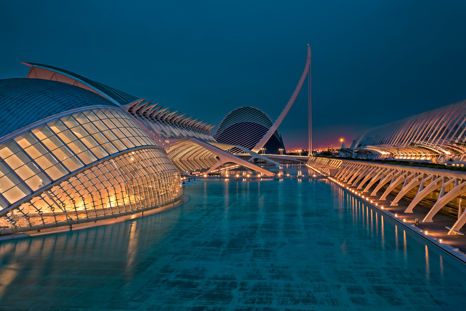 City of Arts and Sciences Valencia by Stefan-Becker