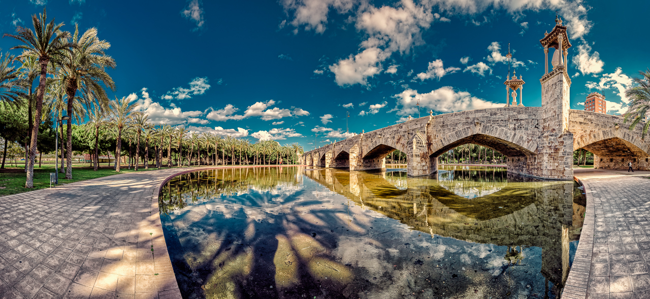 Puente del Mar, Valencia by hessbeck-fotografix