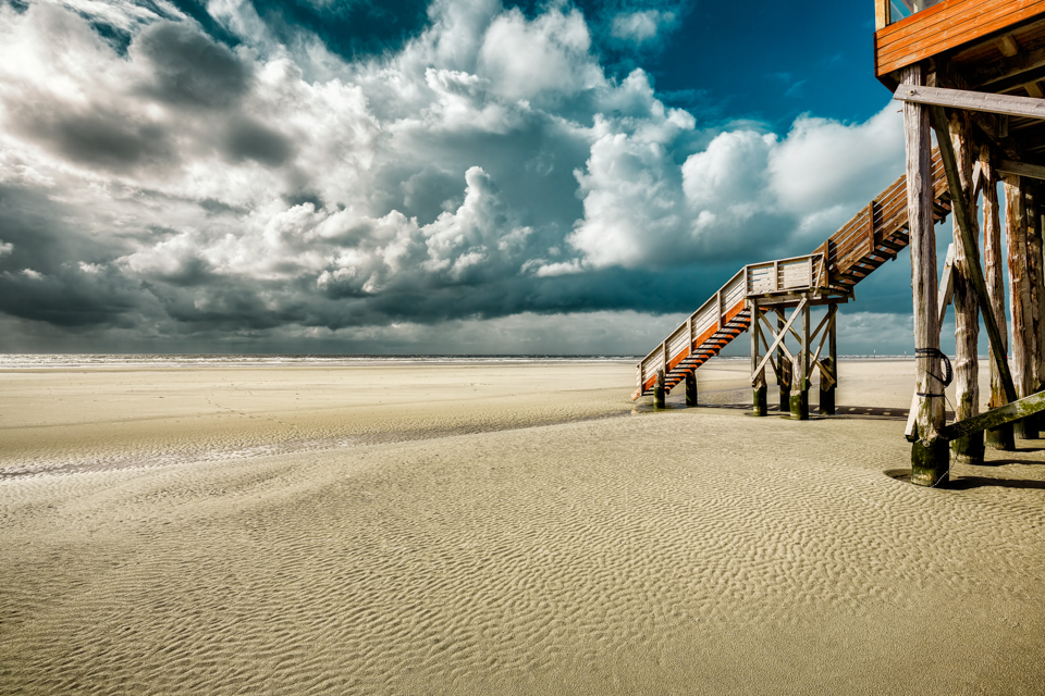 North Sea, Sankt Peter-Ording by hessbeck-fotografix