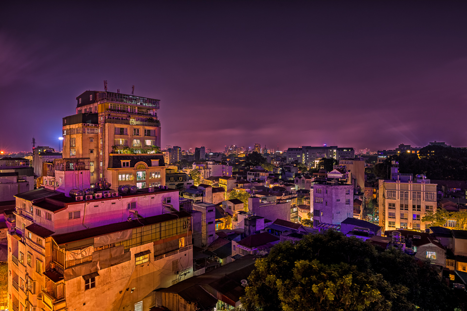 Hanoi, Vietnam at night by hessbeck-fotografix