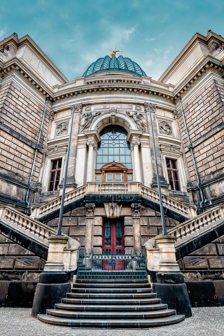 Dresden Academy of Fine Arts by hessbeck-fotografix