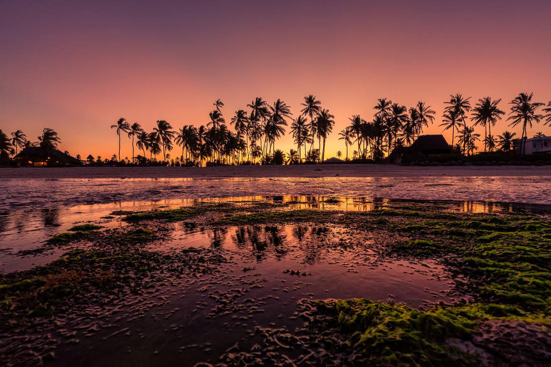 Sunset at Jambiani Beach, Zanzibar by hessbeck-fotografix